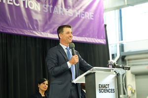 Kevin Conroy, Exact Sciences chairman and CEO